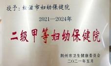 """湖北省县级市妇幼保健医院 首家!成功创""""二甲"""""""